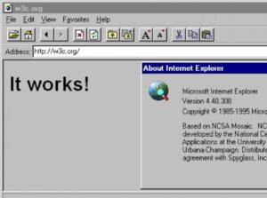 Где взять старый браузер